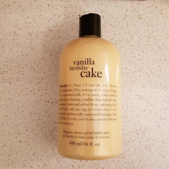 Philosophy Vanilla Birthday Cake Shower Gel M 5b30f7129fe48654d6699d77
